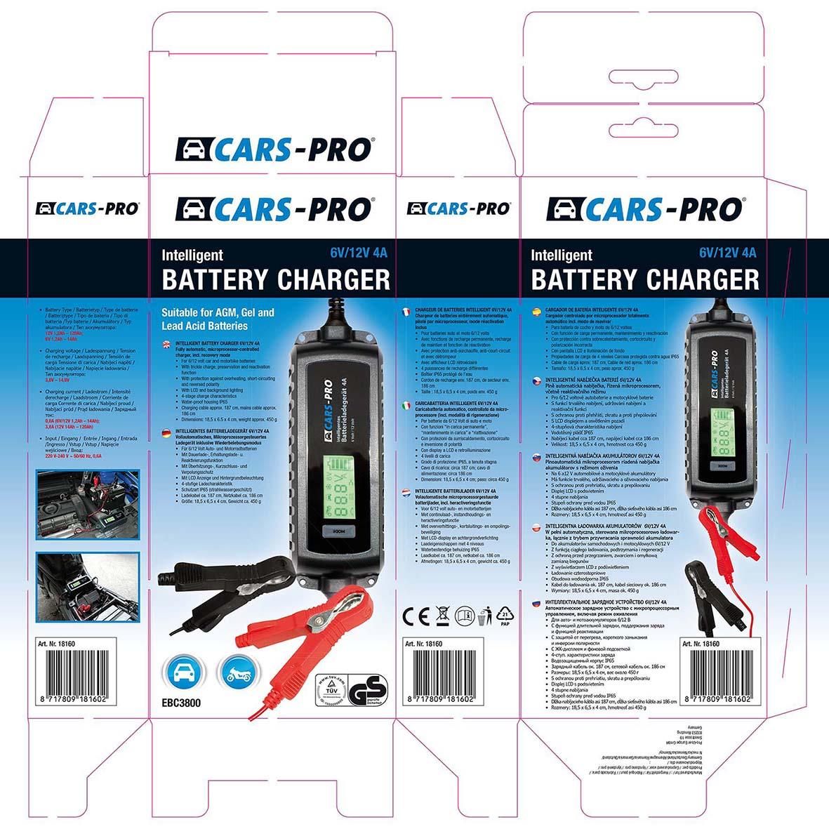 CARS-PRO verpakking