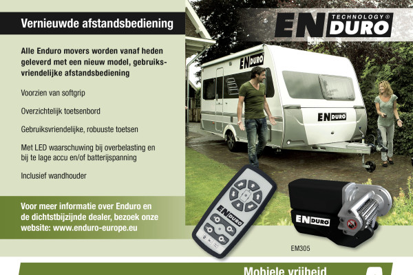 Enduro advertentie