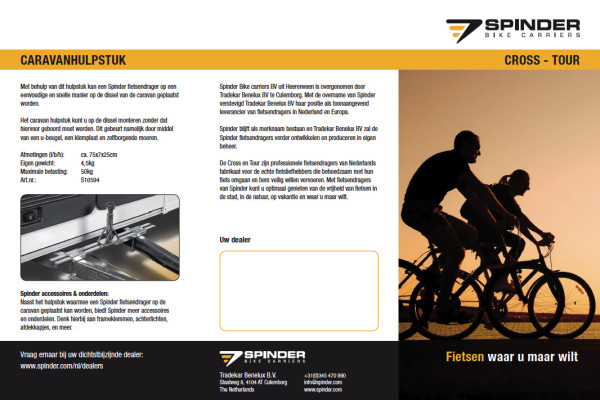 Spinder fietsendragers