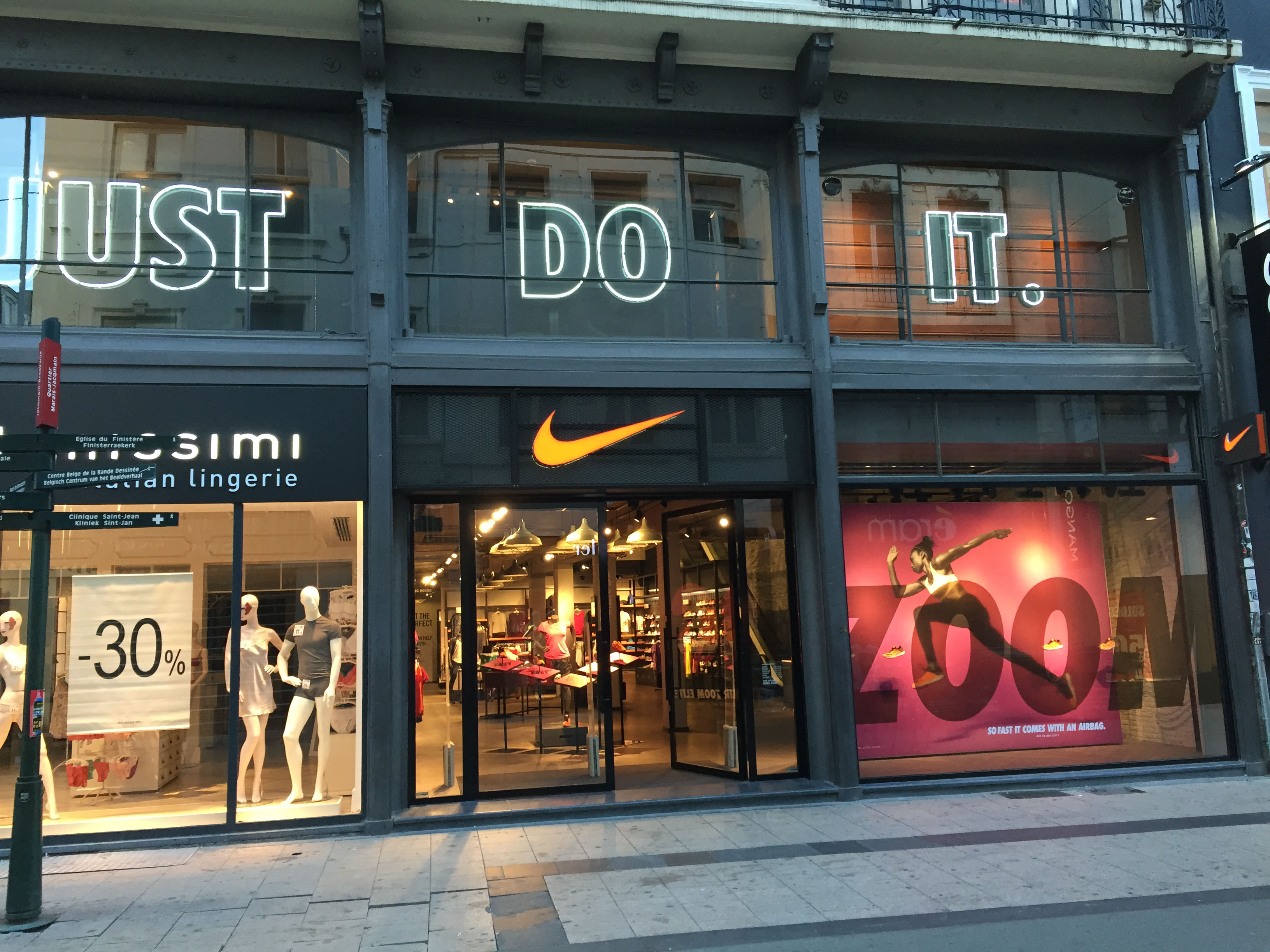 Nike store Brussel