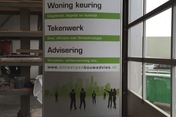Reclamezuil Antwerpen Bouwadvies