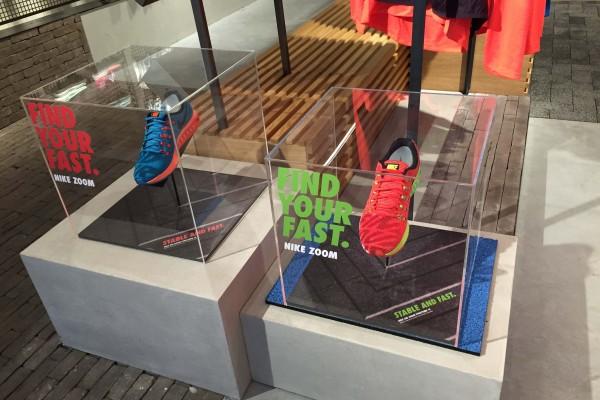 Run2Day winkel installatie