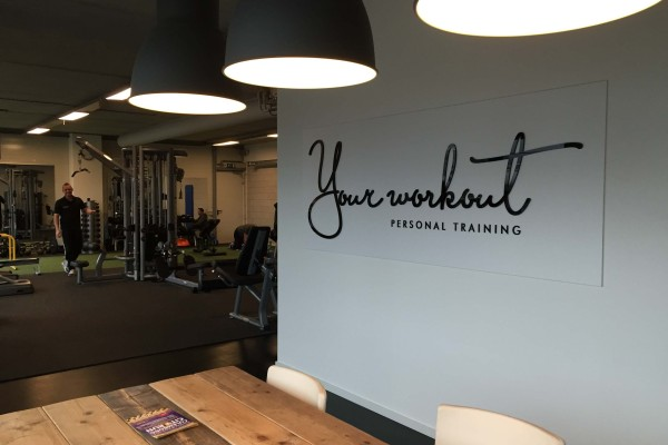 Your Workout logo bord