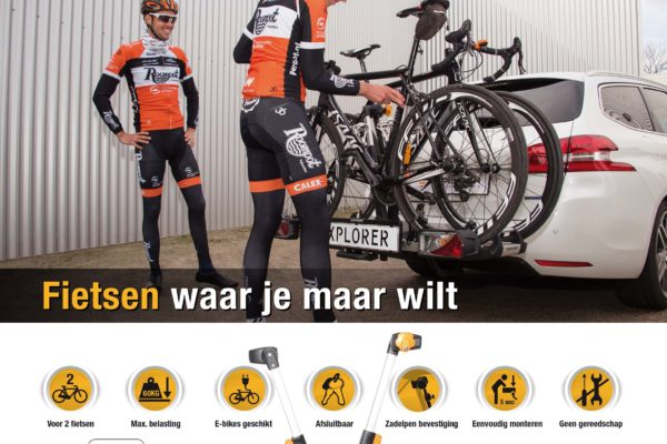 Spinder advertentie